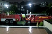 IndianOil assists Delhi Fire Services's efforts to extinguish the massive AIIMS Fire