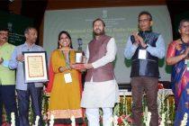 Prakash Javadekar presents National Awards for Community Radio for 2018 and 2019