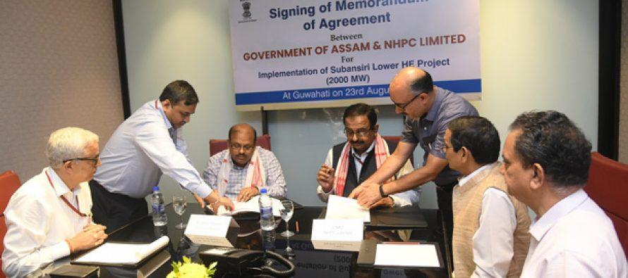 NHPC to resume construction on Lower Subansiri project