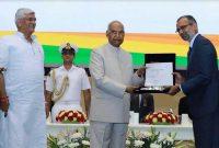 POWERGRID awarded for Swacchata initiative