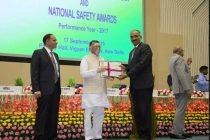 BHEL wins Highest number of National Safety Awards