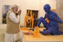 Gandhi extended meaning of democracy to true independence: Modi
