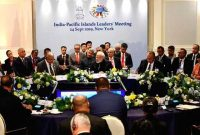 Modi meets Pacific Small Island nations leaders at UNGA