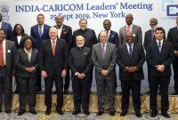 Modi meets Caribbean Community Leaders