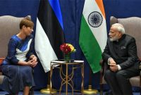 Modi meets Estonian president, discusses cyber security