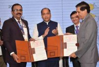 NHPC signs MOU with Govt. of Himachal Pradesh for execution of 449 MW Dugar H.E. Project
