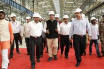 Dharmendra Pradhan visits Rourkela Steel Plant, calls for fast tracking projects, greater contribution towards regional development
