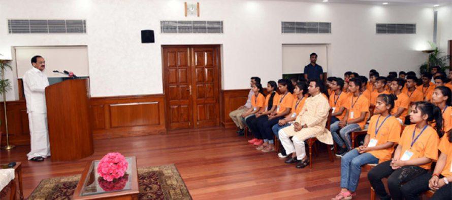 Make water conservation and ending usage of single-use plastics a people's movement: Vice President