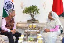 Jaishankar calls on Hasina ahead of bilateral meet