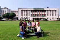 Two Delhi colleges design energy efficient vehicles