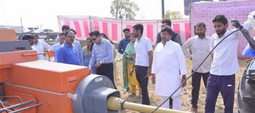 India's First Paddy Straw to Compressed Bio- Gas Plant for Natural Gas Grid as a sustainable solution to stubble burning