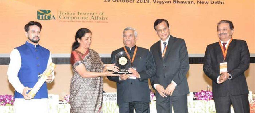 PFC BAGS 'NATIONAL CSR AWARD