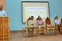R. Vikraman Director NLCIL inaugurated the festival and launched a Mobile App