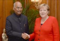 CHANCELLOR OF GERMANY CALLS ON THE PRESIDENT
