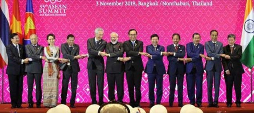 India, ASEAN for maintaining peace in South China Sea