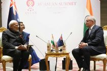 Modi, Morrison discuss Indo-Pacific peace, security