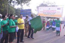Mini Marathon and Human Chain by School Children at Neyveli