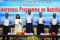 NUTRITIOUS AWARENESS PROGRAMME INAUGURATED FOR NEYVELI SCHOOL STUDENTS AND EMPLOYEES PERCEIVING SPORTS