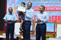 R.Vikraman, Director (HR), NLCIL at Children's day Celebrations 2019 at  Neyveli