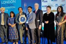 NTPC wins the 'Golden Peacock Award for Sustainability' 2019