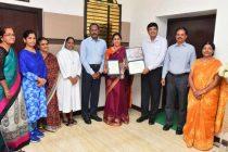 NLCIL Management Honours High Achieving Teacher