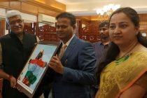 "Jal Shakti Minister Shekhawat releases short documentary film ""Shikhar se Pukar"" authored by Ravindra Kumar"