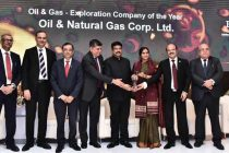 ONGC awarded Oil & Gas Exploration Company of the Year 2019 by FIPI