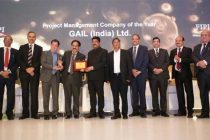 """GAIL awarded as the """"Project Management Company of the Year"""" 2019 by Minister of Petroleum & Natural Gas and Steel"""