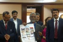 Dr. M. Ravi Kanth, CMD HUDCO released HUDCO calendar and diary for the year 2020