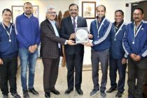 NHPC secures 3rd Position in 24th Inter-CPSU Volleyball Tournament 2019