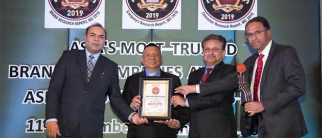 "PFC CONFERRED WITH ""ASIA'S MOST TRUSTED COMPANIES AWARD 2019"" by IBC IN BANGKOK, THAILAND"