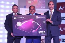 IndianOil launches co-branded credit card with Axis Bank