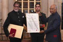 Twitterati hail as Amitabh gets Dadasaheb Phalke Award