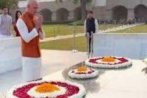 Amazon's Bezos arrives in India, pays homage to the Mahatma