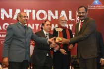 "R. Vikraman, Director (HR), NLCIL conferred with the ""Top Rankers Excellence  ""HR Leader Ship Award''"
