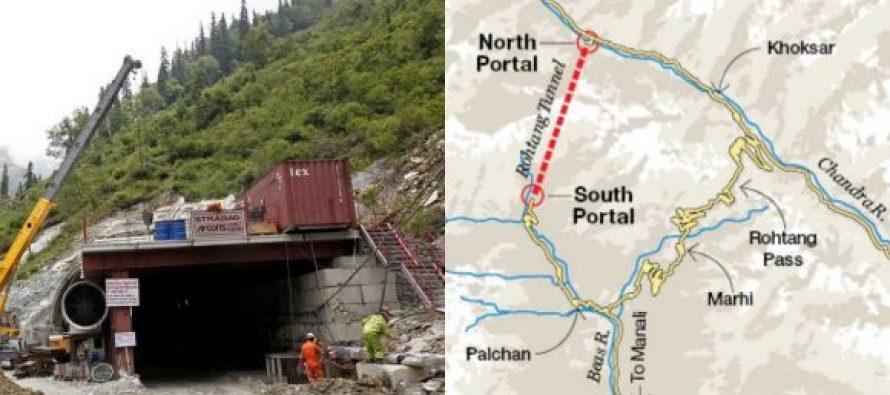 Prime Minister Narendra Modi to inaugurate the Atal Tunnel