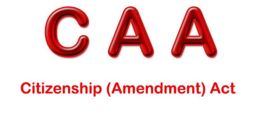 Amended Citizenship Act comes into effect from Friday