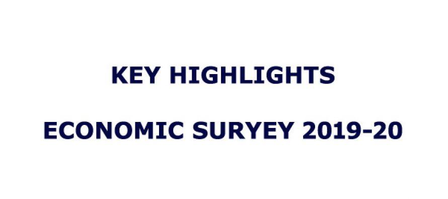 Key Highlights of Economic Survey 2019-20 | Sarkaritel.com