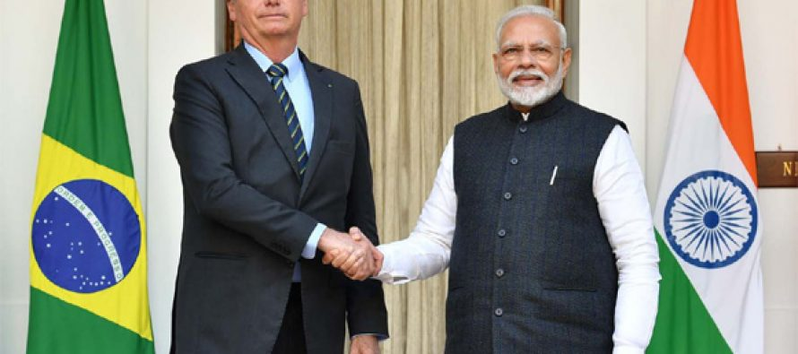 India, Brazil sign pacts to boost strategic partnership