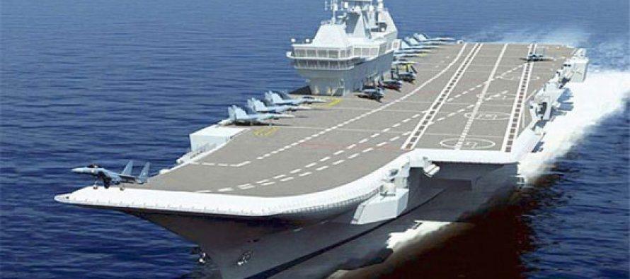 Light Combat Aircraft lands on INS Vikramaditya
