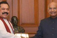 PRIME MINISTER OF SRI LANKA CALLS ON THE PRESIDENT OF INDIA