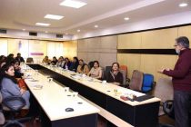 """REC organizes a talk on """"Mindfulness"""" for women employees"""