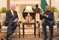 Olafur Ragnar Grimsson, former President of Iceland called on the President of India, Shri Ram Nath Kovind