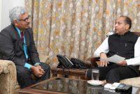 CMD, NHPC meets Chief Minister of Himachal Pradesh