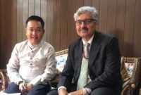CMD, NHPC meets Chief Minister of Sikkim