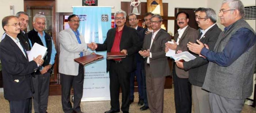 NHPC signs MOU for exploring possibilities for cement requirement for  2880 MW Dibang Multipurpose Project