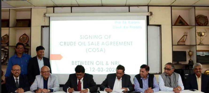 Oil India Limited and NRL signs COSA