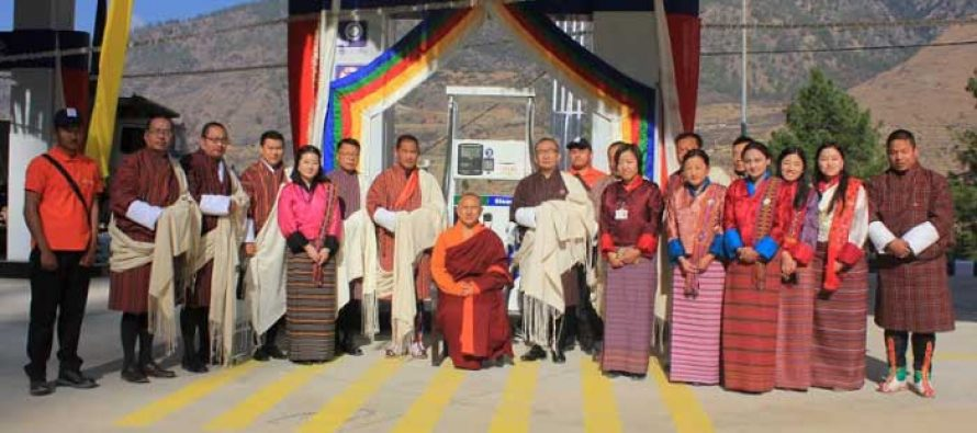 HPCL commissions its 1st Retail Outlet in Bhutan in partnership with STBCL