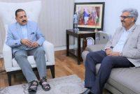 CMD, NHPC meets Dr. Jitendra Singh, Union Minister