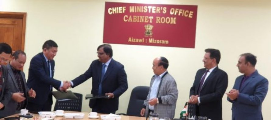 PFC inks MoA for 100-bed hospital in Mizoram